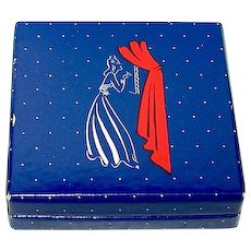 "Scarce World War II ""Evening in Paris"" Cardboard Rouge Compact, Unused"