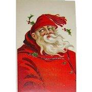 Exceptional Great Big Santa Claus Christmas Postcard