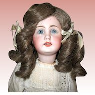Beautiful Simon Halbig Bisque Head 1009 Doll ~ All Orig. ~ TLC