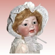 Rare 522 Character Baby Girl Doll ~ Perfect Bisque Head ~ 16 Sweet Inches