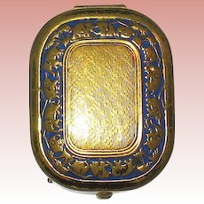 Precious 20's Marinello Miniature Sample Compact ~ Elephant Caravan