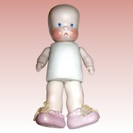 """""""SHE-Bee"""" Vintage All Bisque Jointed Doll ~ Adorable ~ Great Condition"""