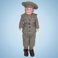 """Precious Armand Marseille """"600"""" Character Doll - 10 in. - EXCELLENT"""