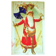 Old World Santa Claus Postcard c. 1910