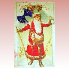 Old World Santa Claus Postcard c. 1910