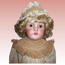 Beautiful Big Kestner Doll on Great Body - Lovely Dress w Matching Undergarments