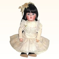 Sweet Nell Bisque Head Doll - ABG 1362 - Gorgeous Dress