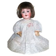 Antique ABG 1361 Bisque Head Doll ~ Adorable Dress ~German Mohair Wig ~ FREE Shipping