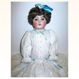 "Beautifully Dressed Bruno Schmidt Waltherhausen 19"" Character Doll"