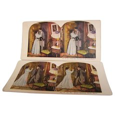 Stereo view Cards Set of 2