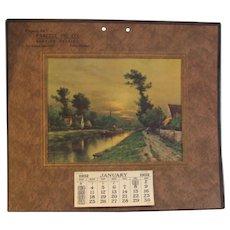 1932 Calendar Advertisement