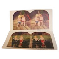 Stereo View Card Ingersoll set of 2