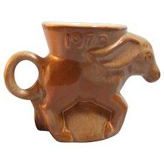 Frankoma Political  Democrat Donkey Mug 1979