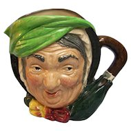 Royal Doulton character pitcher Sairey Gamp