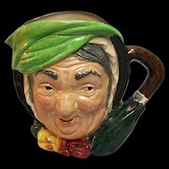 Royal Doulton character pitcher Sairey Gamp