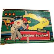All Star Baseball Board Game 1953 Cadaco-Ellis Classic