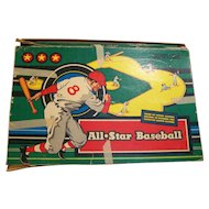 All Star Baseball Board Game 1953 Cadaco-Ellis Classic
