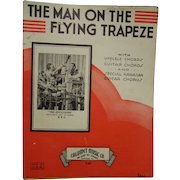 Sheet Music The Man on the Flying Trapeze