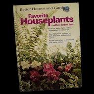 Better Homes and Garden Favorite Houseplants