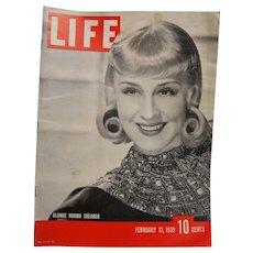 Life Magazine Feb 13 1939