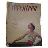 Seventeen Magazine September 1947 Scavullo
