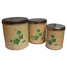 Decoware Canisters Ivy  Set of 3