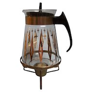 Pyrex Coffee Carafe with Candle Warmer