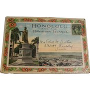 WW1 Photo Postcard Folder Honolulu and the Hawaiian Islands from USS Turner