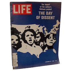 Life Magazine October 24, 1969 Vietnam