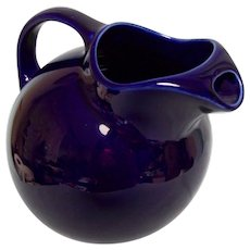 Hall Cobalt Blue Tilt Ball Pitcher #633