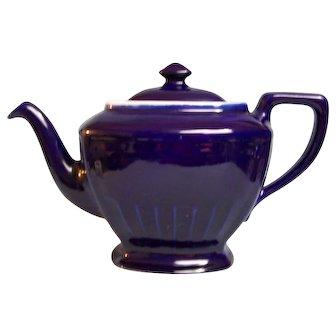 Hall Cobalt Blue Teapot