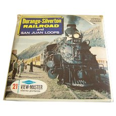 Sawyer's Viewmaster Reels Durango-Silverton Railroad set of 3