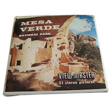 Sawyer's Viewmaster Reels Mesa Verde set of 3