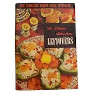 CookBook 1950 500 Delicious Dishes from Leftovers ~ Culinary Institute