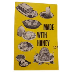 Recipe book Made with Honey American Honey Institute 1962