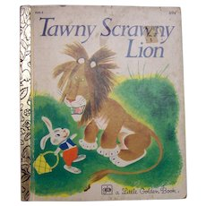 Little Golden Book Tawny Scrawny Lion 1979