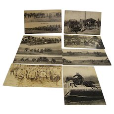 Postcards Military Frontier Cavalry Unused Set of 8