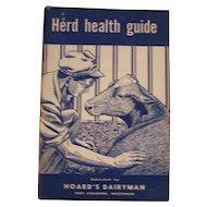 Hoard's Dairyman Herd Health Guide  1957