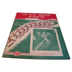Sheet Music 10 Little Soldiers On a Ten Day Leave Werner Silver 1942