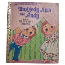 Little Golden Book Raggedy Ann And Andy