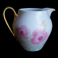 Bavaria Creamer Pitcher signed Bareuther Waldsassen