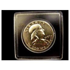 Franklin Half Dollar 1957