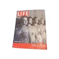 Life Magazine February 9 1942