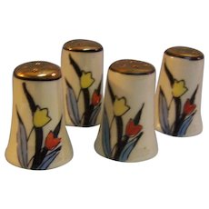 Tulip Shakers Individual set of 4 Japan