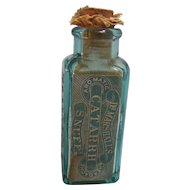 Dr. Marshall's Catarrh Snuff Bottle 1894