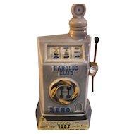 1968 Jim Beam Whiskey Decanter Slot Machine
