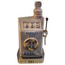 1968 Jim Beam Whiskey Decanter Slot Machine - Red Tag Sale Item