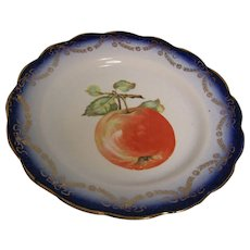 Transfer Apple Salad Plate