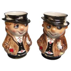 Shield Fifth Ave Hobo mug Stein set of 2