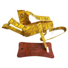 Advertising Tape Measure Cloth Sewing Marx Made Clothes